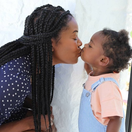 Kaavia James Union Wade With Her Mother, Gabrielle Union