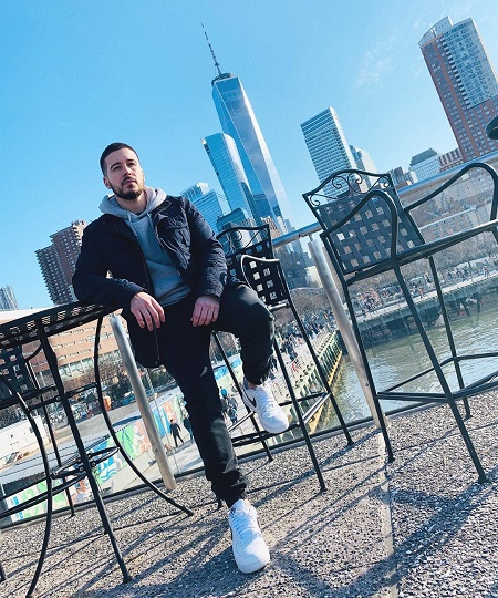 Vinny Guadagnino's Enjoying His Vacation at Tribeca