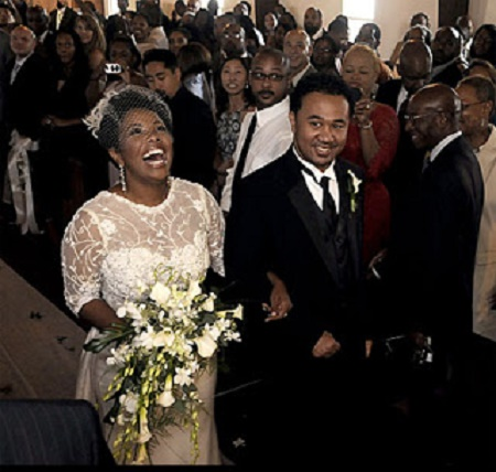 The Wedding Picture Of Kellie Shanygne Williams and  Hannibal Jackson