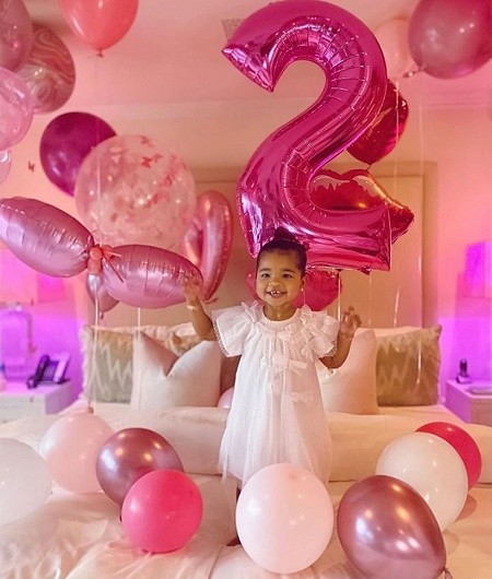 True Thompson On her Second Birthday Bash