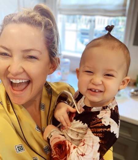 Kate Hudson With Her Daughter, Rani Rose Hudson Fujikawa