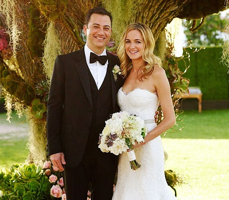 The Wedding Photo of Molly McNearney and Jimmy Kimmel