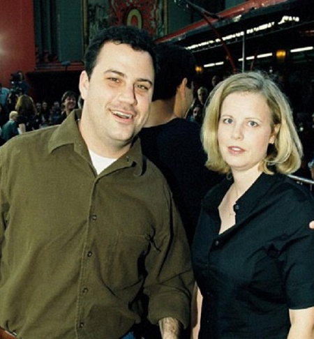 Jimmy Kimmel With His First Wife, Gina Kimmel