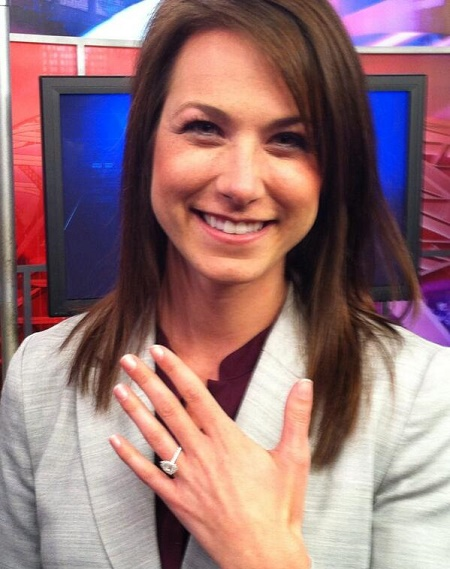 The Meteorologist, Erica Collura's Flaunting her Engagement Ring