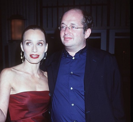 Kristin Scott Thomas With Her Divorced Husband, Francois Olivennes, Whom She Had Three Kids