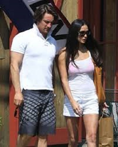 Martin Henderson with His Screen Queen, Demi Moore