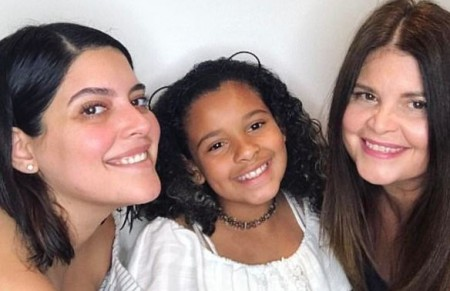 Denise Bidot with her family