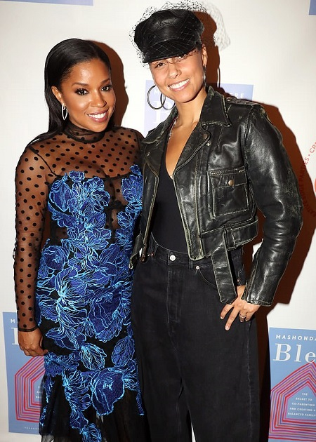 Mashonda Tifrere and Alicia Keys Are On Good Term Now