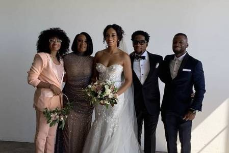 D.J Hughley daughter wedding