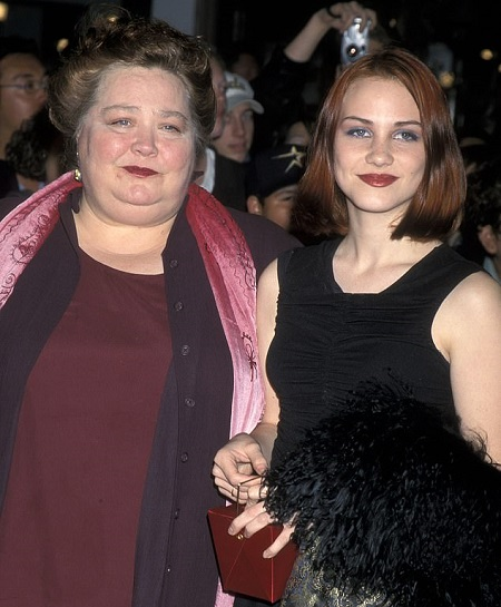 Conchata Ferrell With Her 37 Years Old Daughter Samantha Anderson