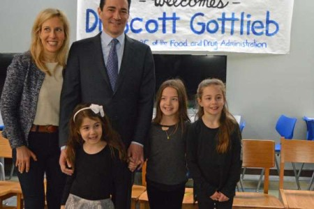 Scott Gottlieb and his family.