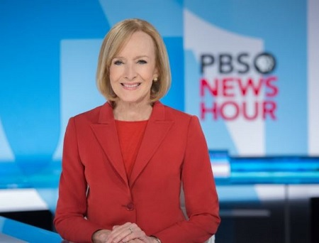 The PBS News Hour anchor Judy Woodruff has a net worth of $8 million.