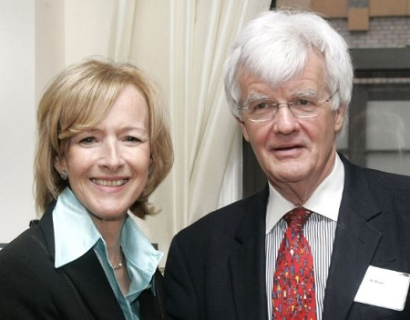 The PBS News Hour anchor Judy Woodruff is married to the journalist AI Hunt since 1980.