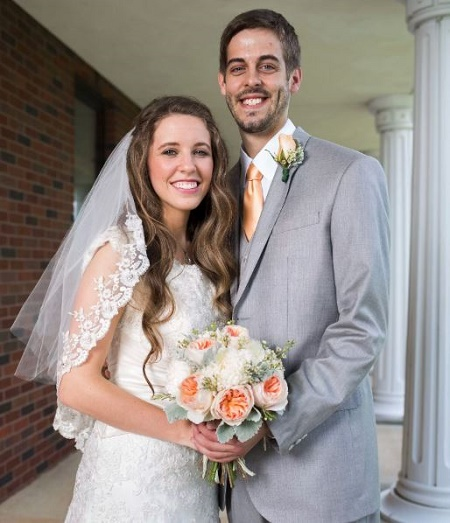 Jill Duggar Dillard and Derick Dillard At Their Wedding Day