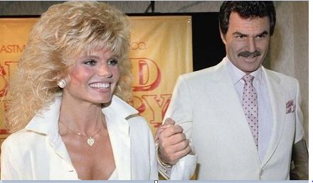 Loni Anderson and Her Third Husband, Burt Reynolds