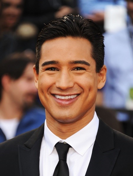 A American Actor And Entertainment Journalist Mario Lopez Tied
