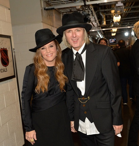 Lisa Marie Presley and Her Fourth Husband, Michael Lockwood