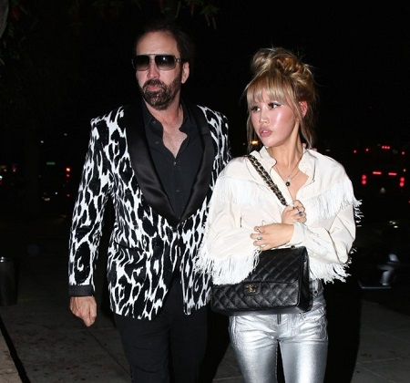 Nicolas Cage and His Fourth Wife, Erika Koike