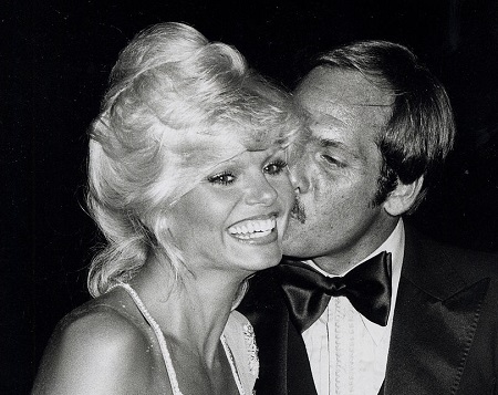 Loni Anderson and Her Second Husband, Ross Bickell