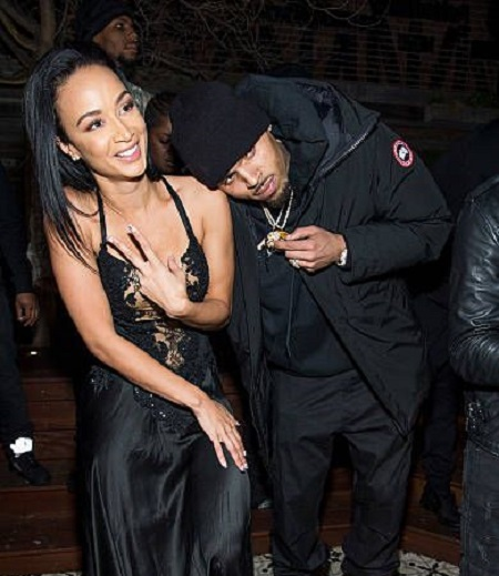 Draya Michel and Chris Brown Dated For About 9 Month