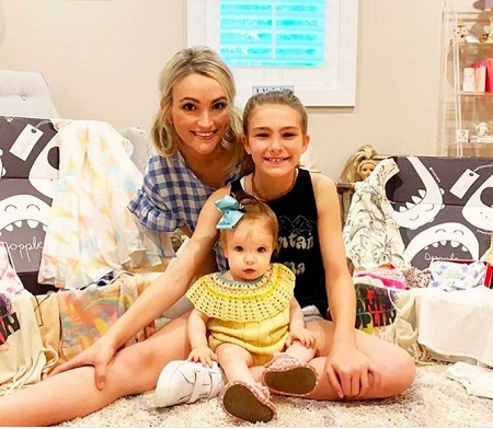 Jamie Spears With Her Daughters, Maddie and Ivey