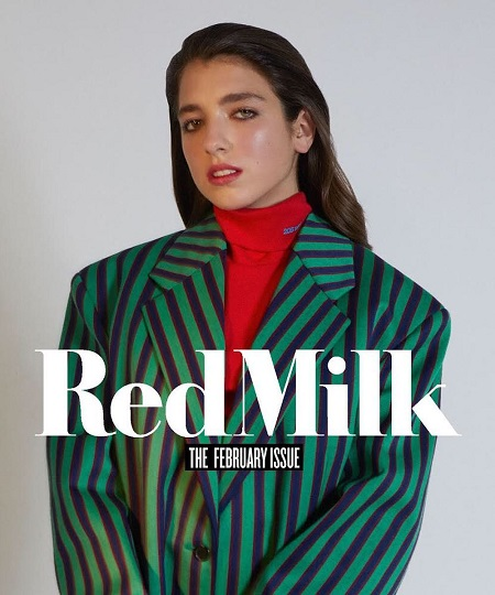 Rina Lipa's Cover Photoshoot For  RedMilk Magazine