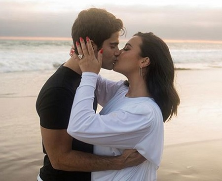 Max Ehrich and His Four Months of Girlfriend Turned Fiance, Demi Lovato