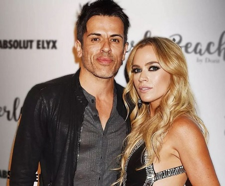 Edwin Arroyave With His Wife, Teddi Jo Mellencamp, With Whom He Has Three Children