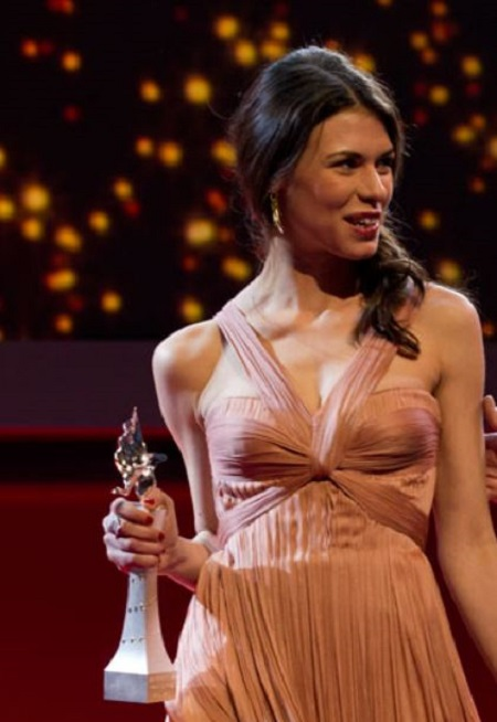 The actress Ana Ularu received the Shooting Stars Award at the Berlin International Film Festival.