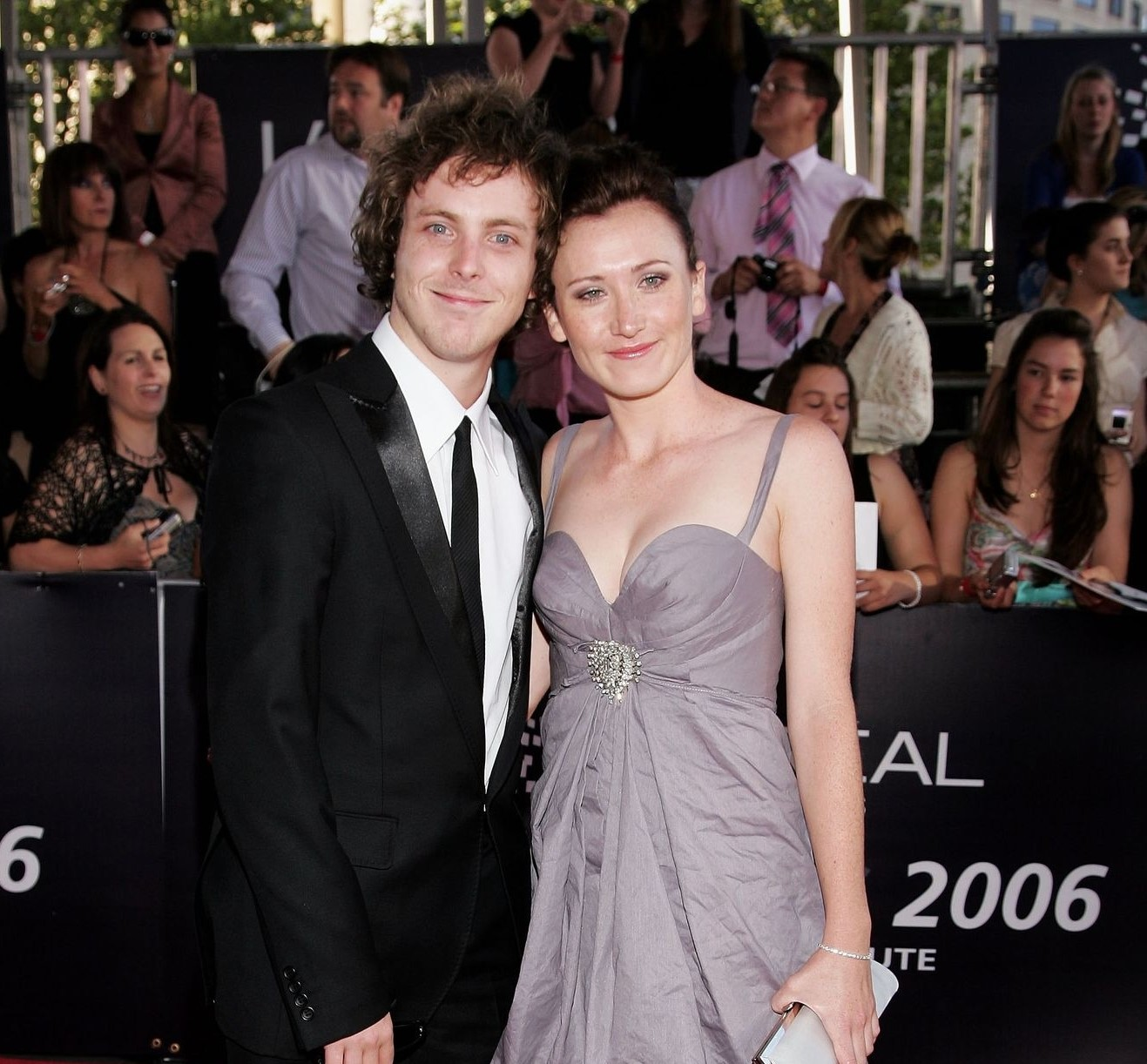 Australian actor, Budge with his girlfriend, Anna Houston at the L'Oreal Paris 2006 AFI Awards.