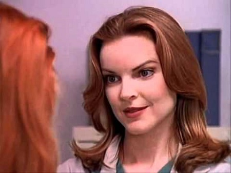 Marcia Cross as Kimberly Shaw on Melrose Place