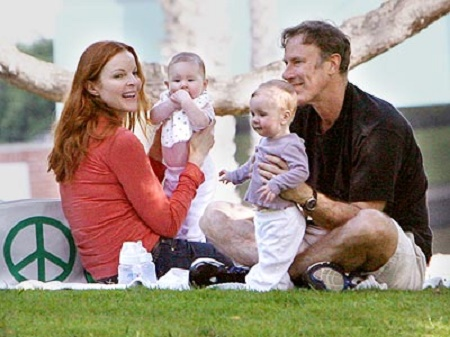 Tom Mahoney and Marcia Cross Have Two Kids