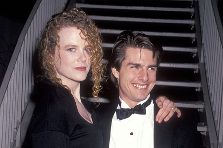 Tom Cruise With His Actress Second Wife, Nicole Kidman