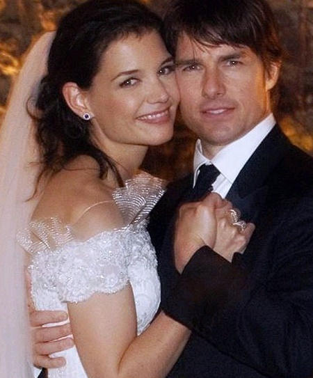 The Wedding Picture of Tom Cruise and Katie Holmes