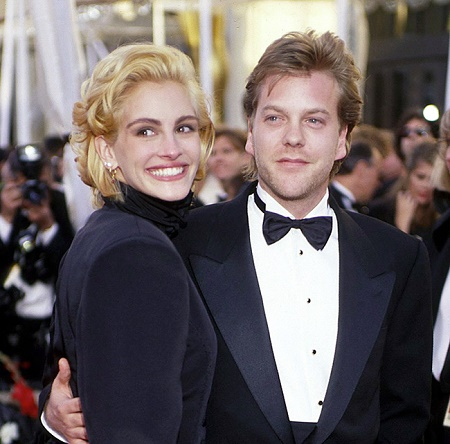 Julia Roberts With Her Ex-Fiance, Kiefer Sutherland