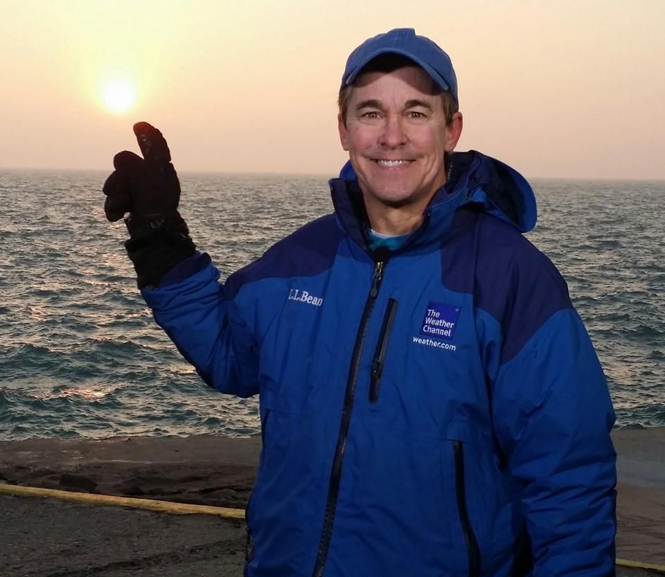 The Weather Channel meteorologist, Mike is enjoying his healthy life.