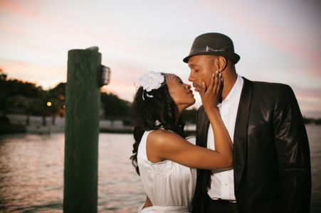 Dorian Missick wedding photo