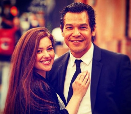 The actor Nathaniel Arcand married his wife Joelene Arcand back on December 6, 2016.