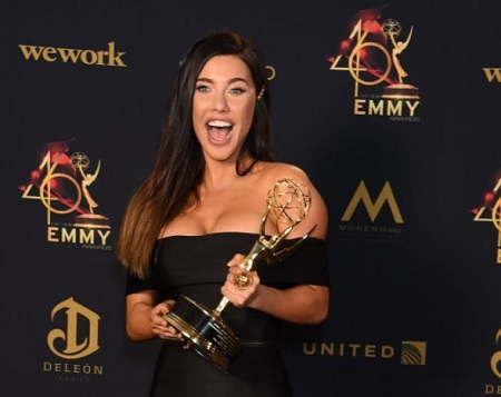 Jacqueline MacInnes Wood received the 2019 Daytime Emmy Award for Outstanding Lead Actress in the drama series The Bold and the Beautiful.