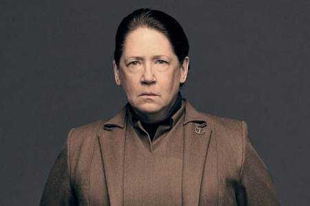 Ann Dowd as portrays Aunt Lydia on The Handmaid's Tale