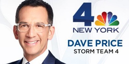 David Price who served for WNBC-TV as a  weather forecaster has an estimated net worth of $700 thousand.