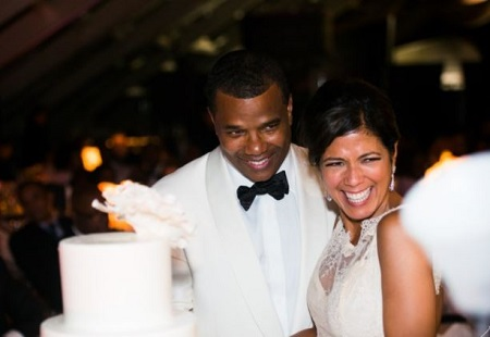 : The Chicago White Sox president Kenny Williams and the NBC journalist Zoraida Sambolin tied the wedding knot in 2014.