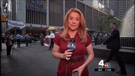 Ida Siegal At NBC4 New York