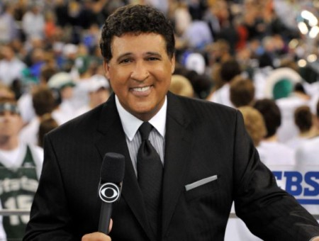 The longtime sportscaster, Greg Gumbel's net worth is $16 million.