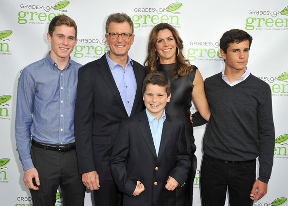 Reilly with his wife and three sons, attending VERTE in 2013.