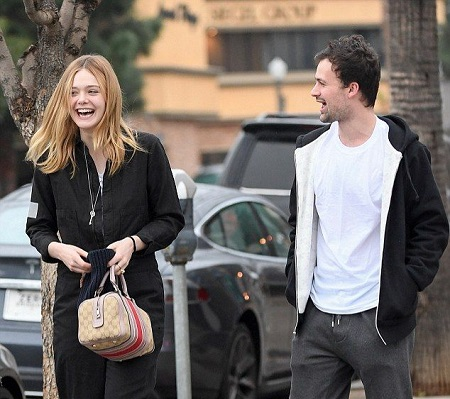 Elle Fanning and Dylan Beck In 2014