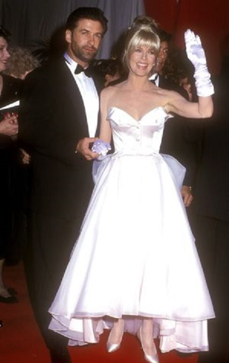 Alec Baldwin With His First Wife, Kim Basinger On Their Marriage Day
