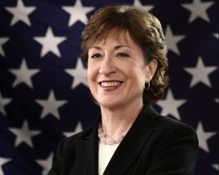 Susan Collins has a net worth of $2 million.