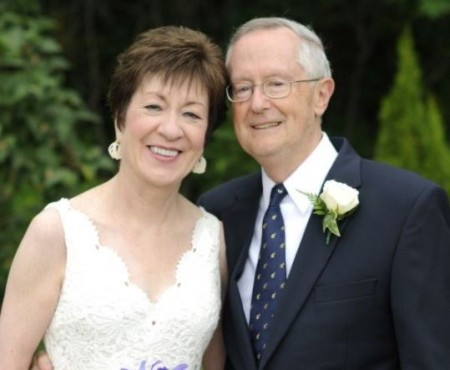 Susan Collins married her husband, Thomas Daffron in 2012.