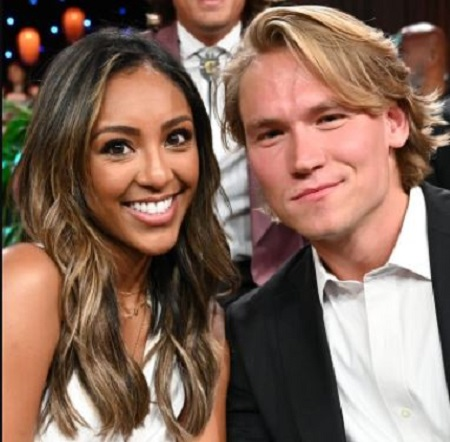 The Bachelor in Paradise contestants Tayshia Adams and JohnPaul Jones dated from August 2019 to September 2019.
